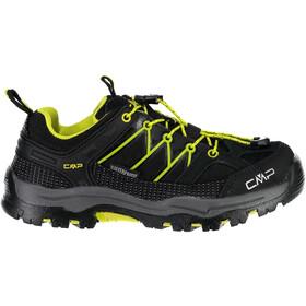 CMP Campagnolo Rigel Low WP Chaussures de trekking Adolescents, nero-limeade